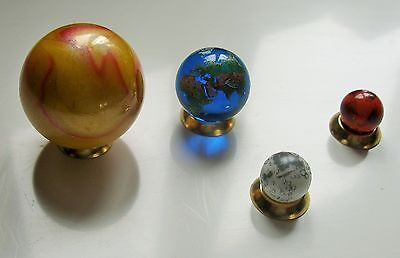 Orrery Set Of Sun-Earth-Moon-Mars.Globe,Map,Collectables,Ornament,Art,Scientific