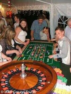 Fun Casino Themed Party Nights  Blackjack Roulette or  Poker Hire