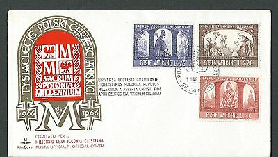 966--1966.commemorative Vatican  Cover