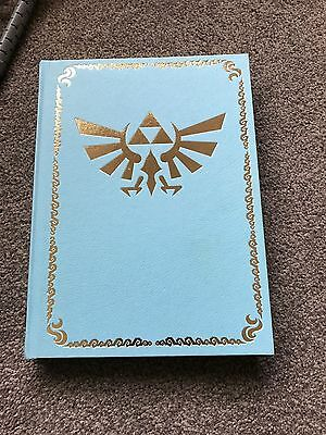 The Legend of Zelda: The Wind Waker HD Collectors Edition Guide + fabric map