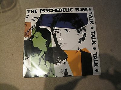 the psychedelic furs talk vinyl lp