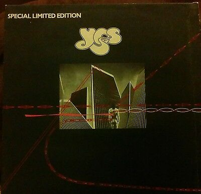 "Yes Going For The One 1977 Uk Press Limited Edition 12"" Vinyl Record Single"