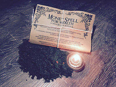 Powerful Money Abundance Hoodoo Wicca Spell Kit  - By Qualified Witch Doctor