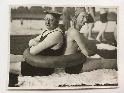 PHOTO ANCIENNE - VINTAGE SNAPSHOT - Beach, Funny, Curious