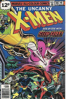 Uncanny X-Men #118 - Very Fine/Near Mint 9.0 - UK Pence Variant - First Print