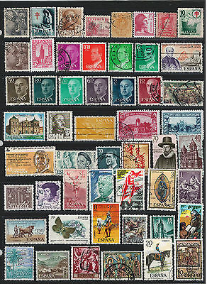 SPAIN Amazing Collection Miscellaneous Very Fine & Fine Used Stamps Set# 1