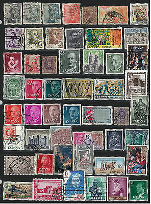 SPAIN Amazing Collection Miscellaneous Very Fine & Fine Used Stamps Set# 4