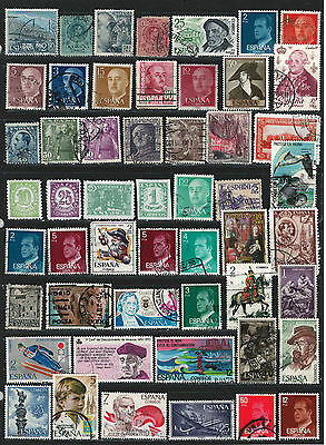 SPAIN Amazing Collection Miscellaneous Very Fine & Fine Used Stamps Set# 2