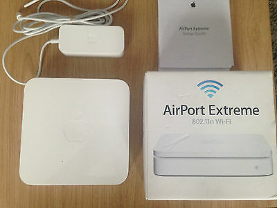 Apple AirPort Extreme 6.75 Mbps Gigabit Wireless Router (MD031B/A) 5th Gen A1408