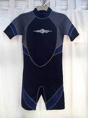 Mens Osprey Wetsuit Cropped Short Shortie Size XS