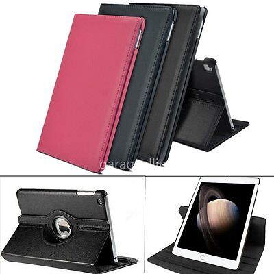 """360°Rotating PU Leather Case Smart Flip  Apple iPad Pro 9.7"""" Stand Cover Holder"""