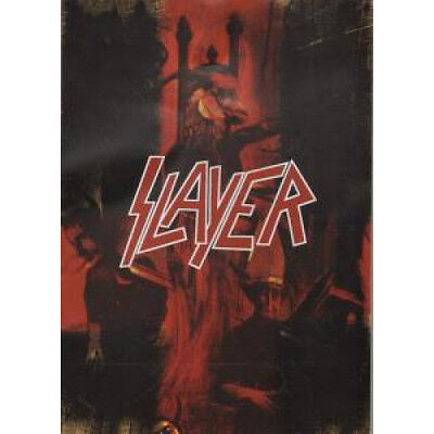 SLAYER Still Reining FLYER UK 2004 A4 Double Sided Flyer For Release Of Still