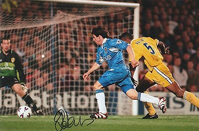 Gianfranco Zola Chelsea Original Hand Signed Photo 12x8 With COA