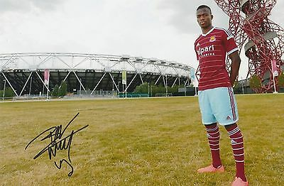 Enner Valencia West Ham United Original Hand Signed Photo 12x8 With COA