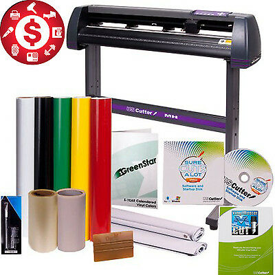 34 Inch Cutter BUNDLE Design Cut Software Suplies Professional Sign Tools Vinyl