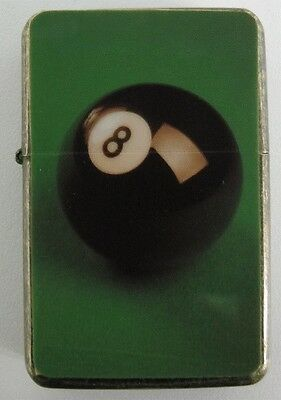 Pool 8 Ball Design Star Lighter In Gift Tin