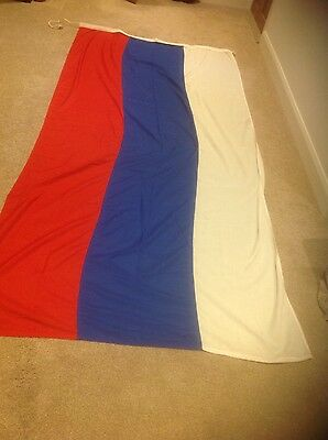 RUSSIAN FLAG (~3 Yard, 9 x 4.5ft, 2.8x 1.3m) Top quality stitched fabric