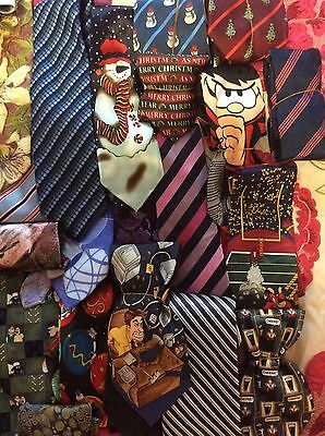 Job Lot Of 60 X Mens Ties. All Excellent Condition.
