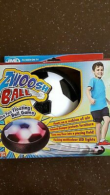 Floating Ball Toy JML Zwoosh Soccer Football Indoor Play Game Match Cushion New