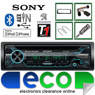 Peugeot 206 CC Sony CD MP3 USB Bluetooth Car Stereo Steering Wheel Interface Kit