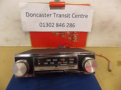 Radiomobile Model 80 Vintage Stereo Car Radio.. Came Out Of A E Type Jag