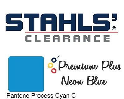 "20"" x 10 Yards - Stahls' Premium Plus Heat Transfer Vinyl - Neon Blue"