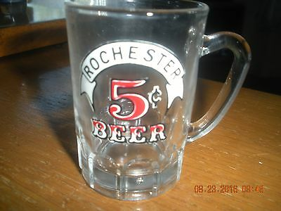 Shot Glass Rochester 5 Cents Beer Mini Beer Stein