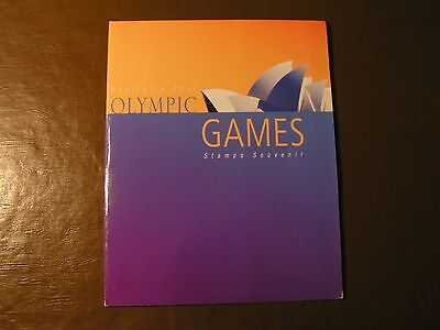Sidney 2000 Olympic Games Souvenir Book from Australia