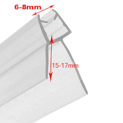 Shower Screen Seal (Glass Thickness 6-8mm & Gap to Seal 15mm-17mm)