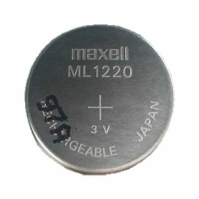 MAXWELL ML1220 Rechargeable CMOS Battery