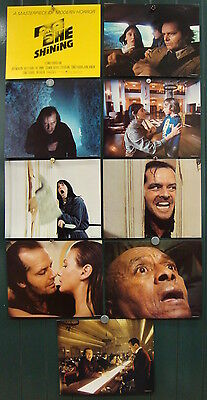 The Shining-S.Kubrick-Horror-S.King-Art By Saul Bass-LC mini Set (8x10 inch)