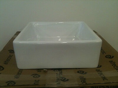 Small Baby Belfast Butler Sink - White Ceramic - Brand New Free Uk Delivery