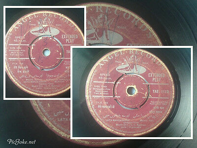 BOLLYWOOD RECORD COLLECTION/EP's - Original Film Soundtrack/ Indian Music