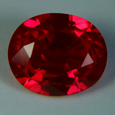 9.30ct.AWESOME BLOOD RED RUBY OVAL LOOSE GEMSTONE