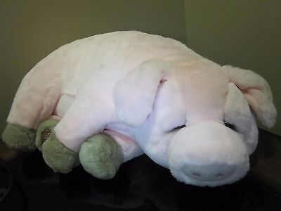"Dakin Plush Pink Pig ""Wilfred"" 17"" Lou Rankin & Friends"