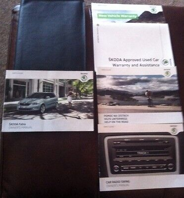 Owners Manuals And Folder For Skoda SE Plus TDI CR 90 2011