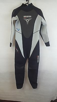 Womens Mares Trilastic 5mm Wetsuit Size 4 - Sapphfire Plush - New Without Tags