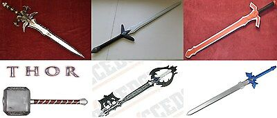 Anime Marvel Replica Hard Foam Latex Swords Hammer Zelda Thor Arhas SAO KH Link