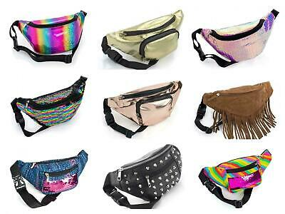 Bum Bag Travel Waist Fanny Pack Festival Money Belt Holiday Wallet Pouch