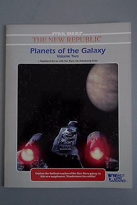 Star Wars Planets of the Galaxy Volume 2 by West End Games 1992