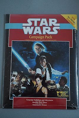 Star Wars Campaign Pack by West End Games 1988 - STILL SEALED