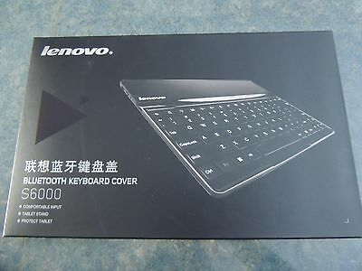 Coque Clavier bluetooth Lenovo S6000 keyboard cover (Neuf)