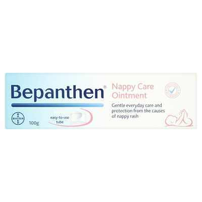 Bepanthen Nappy Cream 100 g Ointment Baby Protection from Nappy Rash Skin Care