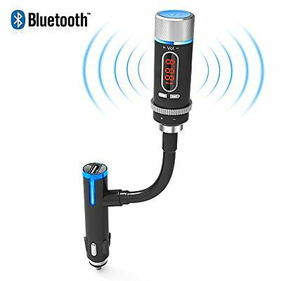 Car FM Transmitter Music MP3 Kit Wireless Bluetooth Radio Player Mic Handsfree