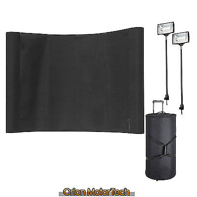 8ft Pop up stand / banner Fabric Tension Trade Show Display Wall Booth