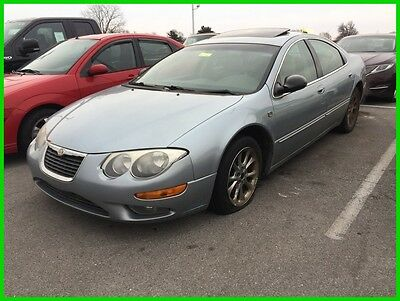2004 Chrysler 300 Series  Used 04 Chrysler 300M 3.5L V6 Auto FWD Sunroof Blue Tan Leather Cheap No Reserve