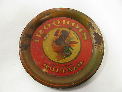 "Antique ""Iroquois Brewery Buffalo Beer"" Tip Tray"