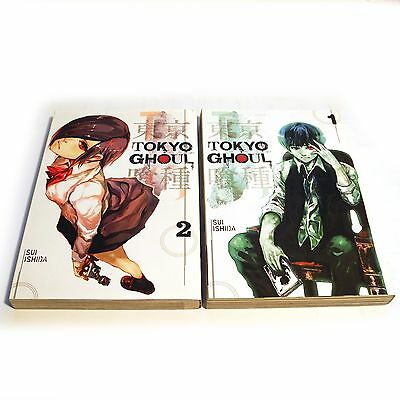 Tokyo Ghoul Volumes 1 and 2  - Paperback - by Sui Ishida