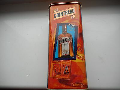 Cointreau EMPTY Tin.  150th Anniverary Limited Edition