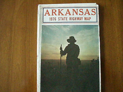 1976 state highway map for Arkansas